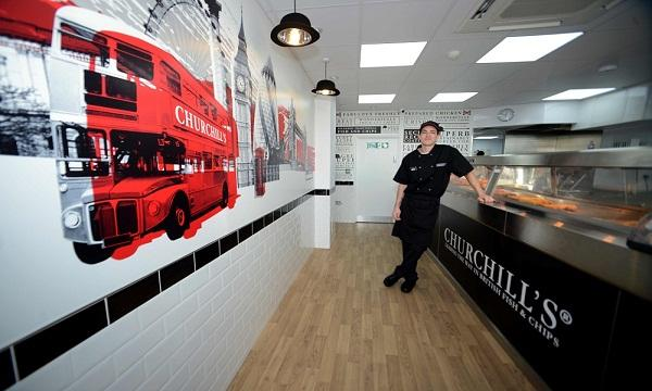 Churchills Fish And Chips Opens In Luton Qsrmedia Uk