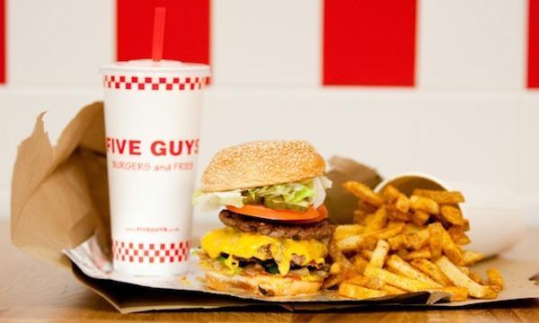 Five Guys UK   Freshly made Burgers & Fries.